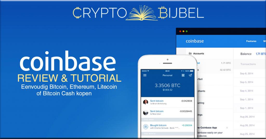 coinbase bitcoin kopen tutorial