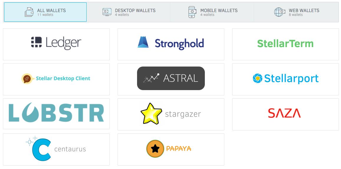 stellar wallets